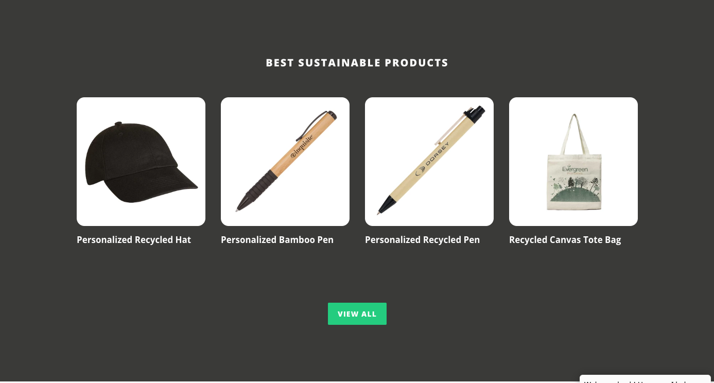 Evergreen Product Grid